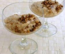 Pudding z orzechów włoskich   Przepisownia