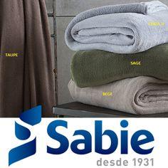 Verifique as cores disponíveis do nosso cobertor Sierra! Venha fazer o seu orçamento 11 2069-3500 sac@sabie.com.br www.sabie.com.br