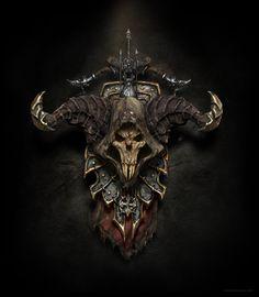 ArtStation - diablo 3 - demon hunter shield, ricardo luiz mariano