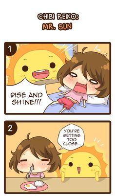 Chibi Reiko :: Mr. Sun   Tapastic - image 1