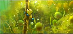 Pixar - Concept Art from 'Newt' - Art, Concept Art, Film Art