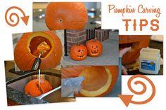 Helpful Pumpkin Carving Tips
