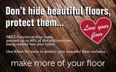 Protect your beautiful floors with Kleen-Tex mats... https://www.kleen-tex.co.uk/ #makemoreofyourfloor #kleentex #loveyourfloor