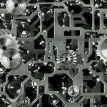 Seamless Mechanical Background -