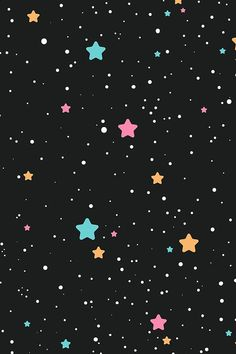 Outer Space Seamless Pattern