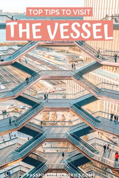 Top Tips to Visit the Vessel, NYC New York Bucket List, Travel Guides, Travel Tips, Travel Destinations, Hudson Yards, New York City Travel, Best Places To Eat, Travel Usa, Travel Inspiration