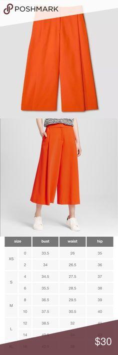Victoria Beckham Culottes Victoria Beckham for Target Orange Culottes Victoria Beckham for Target Pants