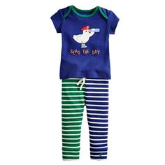 **Sale** Baby Doodle Two-piece Set 'Seas the Day' Now £14.95 down from £24.95