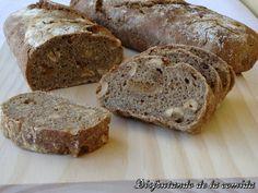 Pan integral con Higos y Avellanas - Disfrutando de la comida