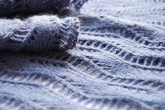 Lace Ribbon Scarf pattern by Veronik Avery