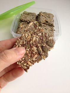 Crackers, bevat edelgistvlokken