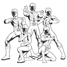 Top 35 Free Printable Power Rangers Coloring Pages Online | Coloring ...