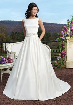 Sincerity Bridal Wedding Dresses - Search our photo gallery for pictures of wedding dresses by Sincerity Bridal. Find the perfect dress with recent Sincerity Bridal photos. Sincerity Bridal Wedding Dresses, Bridal Dresses 2015, Wedding Dresses Photos, Modest Wedding Dresses, Wedding Dress Styles, Bridal Gowns, Bridal 2015, Event Dresses, Gown Wedding