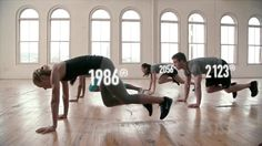 """This is """"Nike Kinect Training for by Xavier Jacob on Vimeo, the home for high quality videos and the people who love them. Creative Video, Nike Workout, Campaign, Advertising, Train, Learning, Fitness, People, Youtube"""