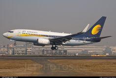 Jet Airways - Boeing 737-75R VT-JGX 34805 Mumbai Chhatrapati Shivaji Int'l - VABB