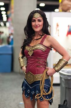 Wonder Woman at SDCC 2013, taken by Caitlin Holland...amazing, sexy yet classy...how all female heroes should be!