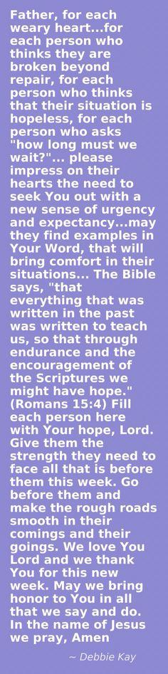 Faith & Endurance