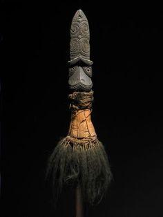 Maori fighting stick, New Zealand