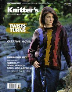 Knitter's Magazine (Twists & Turns, Issue 72, Vol. 20, No. 3) by Rick Mondragon,http://www.amazon.com/dp/B002VTUSEG/ref=cm_sw_r_pi_dp_VqUKsb0W4JSV77XW