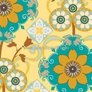 French Riviera, Yellow Blooms by Pat Bravo for Art Gallery Fabrics Fabric Shop, Fabric Art, Quilting Fabric, Canadian Quilts, Die Cut Paper, Shopping Places, French Fabric, Art Gallery Fabrics, Quilt Stitching