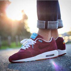 Nice! Nike Air Max 1 Patta x Parra 'Cherrywood' by @chonkerez //  >> Tag #sneakersmag for shoutouts! <<  #nike #airmax #airmax1 #am1 #sadp #kotd #dailyheat #igsneakercommunity #swoosh #swooshlife #air #nikeair #walklikeus #womft #parra #patta #cherrywood