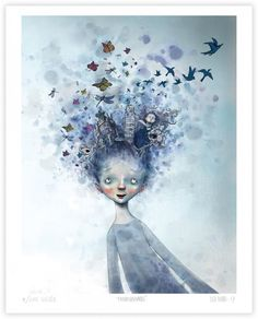 Om barn og kultur i DBMagasinet Art And Illustration, Cartoon Drawings, Art Drawings, Disney Concept Art, Old Postcards, Love Art, Art Inspo, Poster, Art Prints