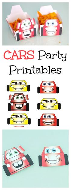 Cars Party Printables