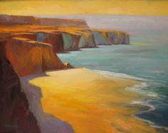 La Jolla Cliffs by Dedre Bickler-Sines
