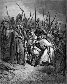 Gustave Doré, Death of Agag, La Sainte Bible, 1866 - Gustave Doré - Wikimedia Commons