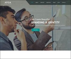 Apoa #Business #WordPress Theme : https://webdesignshare.com/2016/apoa-business-wordpress-theme/
