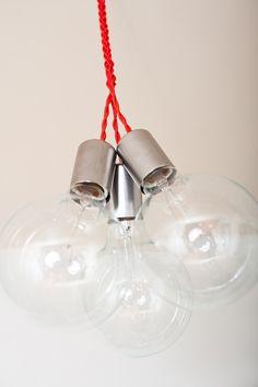 3 globe hanging lamp