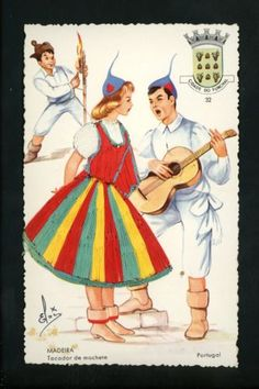 The Staff at Trenton Stamp & Coin. Woman Costumes, Costumes For Women, Portugal, Rumpelstiltskin, Embroidered Clothes, New Fashion, Cool Outfits, Princess Zelda, Stamp
