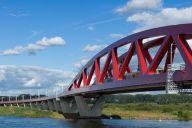 De Hanzeboog, de nieuwe brug over de IJssel.