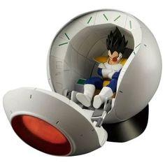 Dragon Ball Z - Saiyan Space Pod Figurine de collection Standard