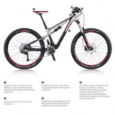 9716b14e6 HOW TO CHOOSE THE RIGHT MTB BIKE for women  Mountain Bike Tips for Women