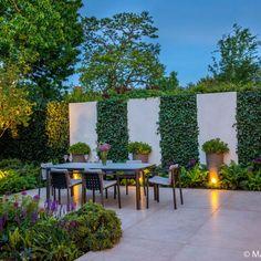 Outdoor Patio Designs, Small Backyard Landscaping, Modern Landscaping, Outdoor Decor, Backyard Ideas, Outdoor Living, Modern Landscape Design, Modern Garden Design, Back Garden Design