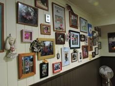 Photo wall in your foyer / reception area
