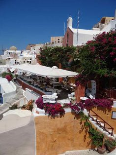 This restaurant in Oia serves a delightful lamb dish. Places Around The World, Around The Worlds, Lamb Dishes, Archipelago, Santorini, Greece, Beautiful Places, Bucket, Restaurant