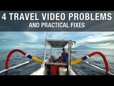 Easy tips for overcoming problems people face when traveling on vacation and trying to make a decent video. Simple solutions for beginner to advanced videogr.
