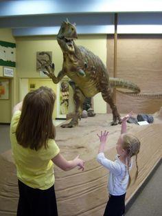 Dinosaur Museum in Blanding, Utah