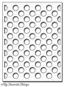 Polka Dot Cover-Up Die-namics from MFT $24