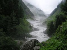 The Angry River on the Bhawa Pass Trek.