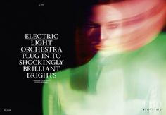 Pernille Moeller featured in Electric Light Orchestra, March 2011. TANK Magazine