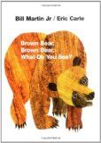 Brown Bear, Brown Bear, What do you see? by Eric Carle #books #boardbook