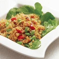 Warm Quinoa Salad with Edamame & Tarragon - EatingWell.com