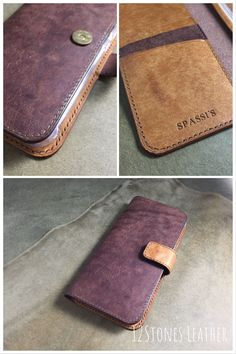 12Stones Leather personalised phone wallet is handmade with top grade Italian Pueblo leather. It has a total of 3 card slots and 2 hidden compartments allowing the minimalists to put cards, cash & phone at one place. Leather Phone Case, Leather Wallet, Iphone Wallet, Iphone 11, Hidden Compartments, Vegetable Tanned Leather, Card Holder, Phone Cases, Cards