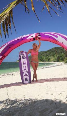 Zeeko kiteboarding kite   Collection kite surf girl by adoscool.com 2015