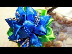 В этом видео уроке я хочу показать вам один из способов создания цветка из репсовых лент. Но такой цветок можно сделать и из атласных лент, а также из органз...