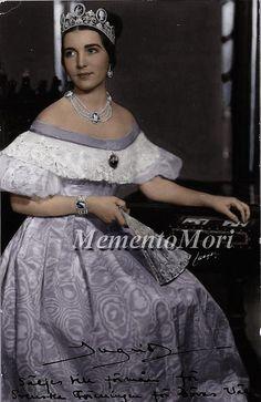 Princess Ingrid of sweden, later queen of Denmark