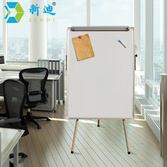 XINDI New 100*70cm Dry Eraser White Board Tripod Magnetic Whiteboard Paper Hanging Clip Drawing Board Factory Directly Sell WB52 #Affiliate